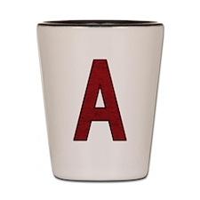 Scarlet Letter A Shot Glass