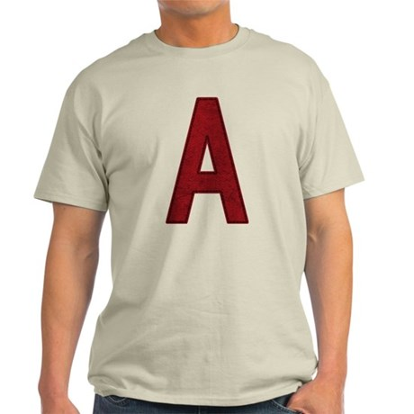 Scarlet Letter A Light T-Shirt