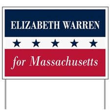 Warren for Massachusetts Yard Sign