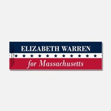 Warren for Massachusetts Car Magnet 10 x 3