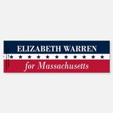 Warren for Massachusetts Bumper Bumper Sticker