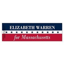 Warren for Massachusetts Bumper Stickers