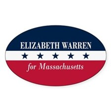 Warren for Massachusetts Decal