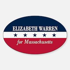 Warren for Massachusetts Decal