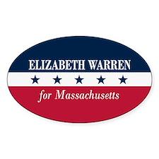 Warren for Massachusetts Stickers