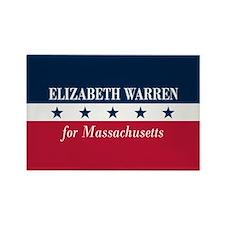 Warren for Massachusetts Rectangle Magnet
