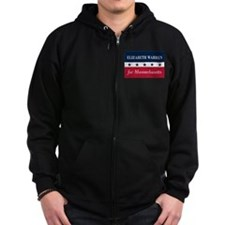 Warren for Massachusetts Zip Hoodie