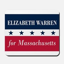 Warren for Massachusetts Mousepad