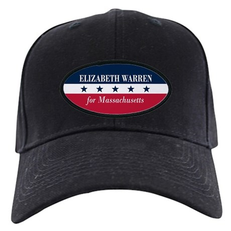 Warren for Massachusetts Black Cap