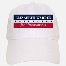 Warren for Massachusetts Baseball Baseball Cap