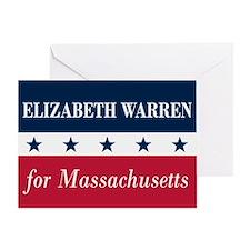 Warren for Massachusetts Greeting Card
