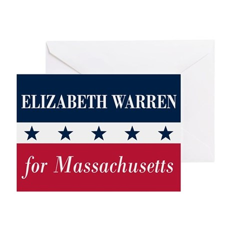 Warren for Massachusetts Greeting Cards (Pk of 10)