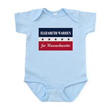 Warren for Massachusetts Infant Bodysuit