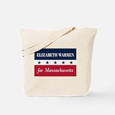 Warren for Massachusetts Tote Bag