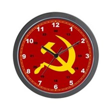 Cute Communism Wall Clock