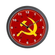 Cute Cccp Wall Clock