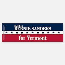 Bernie Sanders for Vermont Bumper Bumper Sticker
