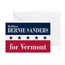 Bernie Sanders for Vermont Greeting Card