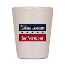 Bernie Sanders for Vermont Shot Glass