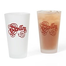 Trollop Drinking Glass