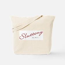 Sluttony Sin Number 6 1/2 Tote Bag