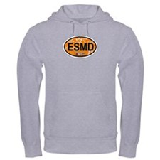 Eastern Shore MD - Oval Design. Hoodie
