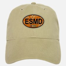 Eastern Shore MD - Oval Design. Baseball Baseball Cap