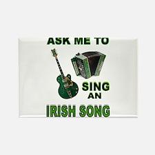 IRISH SONG Rectangle Magnet
