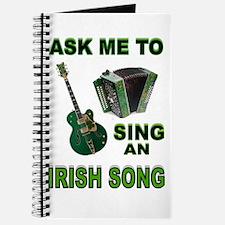 IRISH SONG Journal
