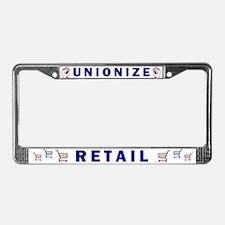 Unionize Retail License Plate Frame