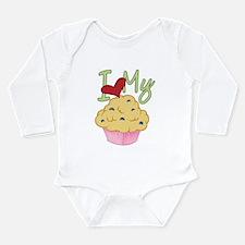 Love Muffin Long Sleeve Infant Bodysuit