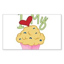 Love Muffin Decal