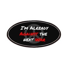 Already Against War Patches