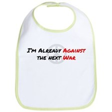 Already Against War Bib