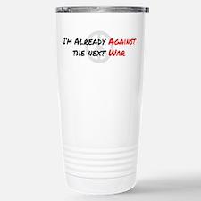 Already Against War Travel Mug