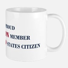 Proud Union Member US Citizen Mug