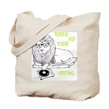 King Of The Vinyl Tote Bag