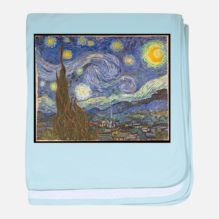 Van Gogh Starry Night baby blanket