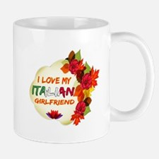 Italian Girlfriend Valentine design Mug