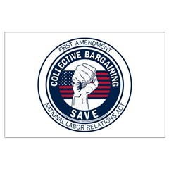 Save Collective Bargaining Posters