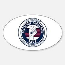 Save Collective Bargaining Decal