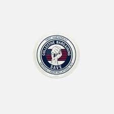Save Collective Bargaining Mini Button
