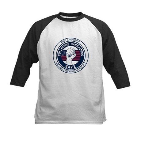Save Collective Bargaining Kids Baseball Jersey