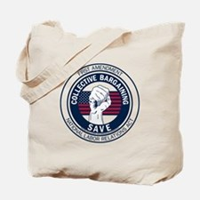 Save Collective Bargaining Tote Bag