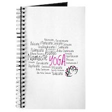 Namaste Yoga Asanas Poses Journal
