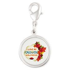 Kazakhstani Girlfriend Valentine design Silver Rou
