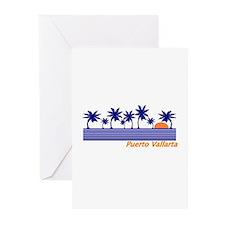 Puerto vallarta Greeting Cards (Pk of 10)