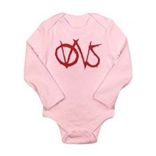 OWS Occupy Wall Street Long Sleeve Infant Bodysuit