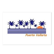 Funny Vintage puerto vallarta Postcards (Package of 8)