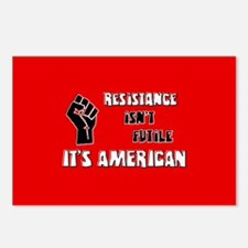 Resistance It's American Postcards (Package of 8)